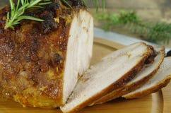 Мясо говядины жаркого красное Стоковая Фотография RF