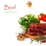 Мясо говядины. Стоковые Фото