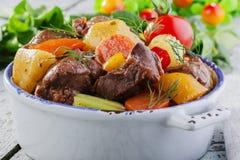 Мясо гуляша стоковое изображение