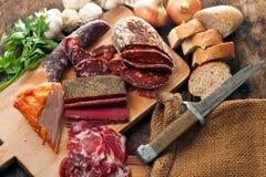 мясо деликатностей Стоковая Фотография