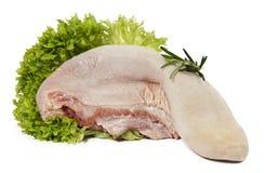 мясо еды сырцовое Стоковые Изображения