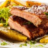 Мясо жаркого стоковые изображения rf