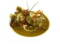 мясо индейца тарелки Стоковое Изображение RF