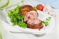 Мясо испеченное с специалистом Стоковая Фотография
