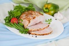 Мясо испеченное с специалистом Стоковая Фотография RF