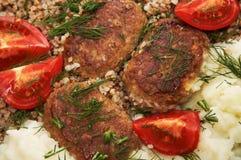 мясо котлет Стоковое Изображение RF