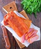мясо курило Стоковая Фотография RF