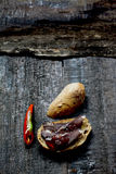 мясо курило Стоковые Изображения RF