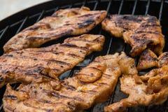 Мясо на решетке Стоковая Фотография RF