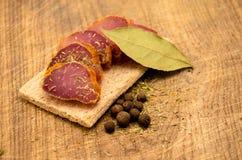 мясо пряное Стоковое Изображение