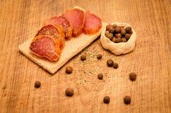 мясо пряное Стоковое фото RF