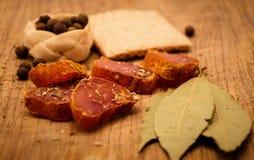 мясо пряное Стоковое Изображение RF