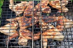 мясо решетки Стоковое Изображение RF