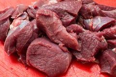 Мясо сварено в кипятке стоковое изображение