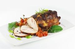 Мясо свинины жаркого стоковое изображение rf