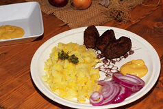 Мясо семенить свининой Стоковые Изображения