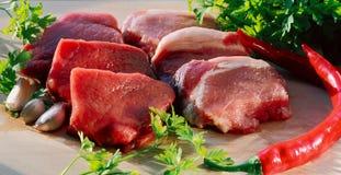 мясо сырцовое Стоковое Фото