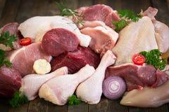 мясо сырцовое Стоковая Фотография RF