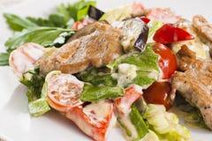 Мясо с овощами и травами Стоковое Изображение RF