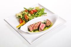 Мясо с овощами Стоковое Фото