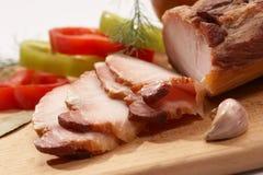 мясо тарелки Стоковые Фотографии RF