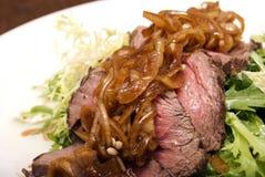 мясо тарелки Стоковое Изображение RF