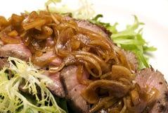 мясо тарелки стоковое фото