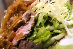 мясо тарелки Стоковые Изображения RF