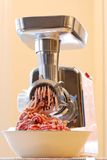 мясо точильщика Стоковые Изображения RF
