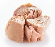 Мясо тунца изолированное на белизне Стоковое Изображение RF