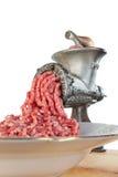 мясо тяпки Стоковая Фотография