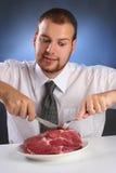 мясо укуса Стоковое Изображение RF