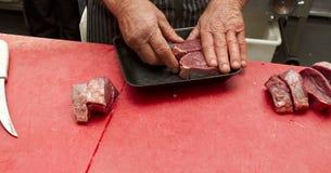 Мясо упаковки стоковые изображения