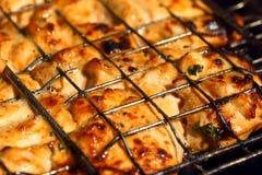 Мясо цыпленка на гриле Стоковые Фото