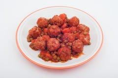 мясо шариков стоковое изображение
