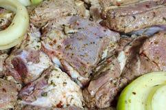 Мясо для барбекю Стоковые Фото