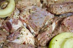 Мясо для барбекю Стоковые Изображения