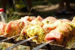 Мясо для жарить Стоковые Фотографии RF