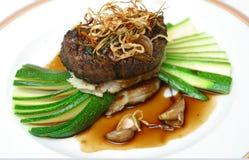 мясо 11 тарелки Стоковая Фотография RF