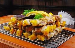 мясо 4 решеток Стоковые Изображения RF