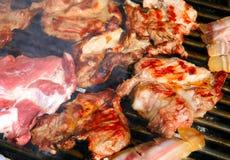 мясо bbq вкусное Стоковые Изображения RF