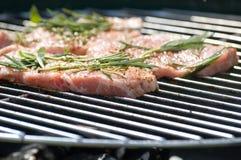 мясо bbq Стоковая Фотография