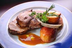 мясо fry Стоковые Фотографии RF