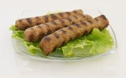 мясо kebabcheta собрания Стоковое Изображение