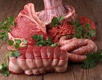 мяс сырцовые Стоковые Фото