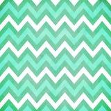 Мята и зеленый цвет Шеврон Стоковое Изображение RF