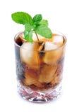 мята питья колы Стоковое Изображение RF