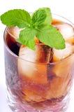 мята питья колы Стоковые Фотографии RF