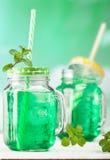 Мята питья свежая с льдом Стоковая Фотография