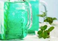 Мята питья свежая с льдом Стоковые Фотографии RF